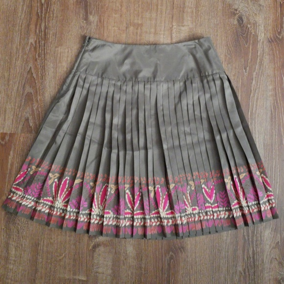 c723bd747a NWT Sigrid Olsen Collection Skirt Size 10 Brown